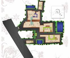 Site Floor Plan by Floor Plan Fortune Square New Town Kolkata Residential