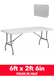 6 plastic folding table blow moulded 6ft fold up plastic folding table rectangle