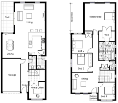 100 floor plan for two storey house in the philippines 100