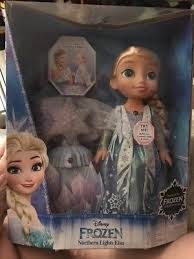 disney frozen northern lights elsa music and light up dress new disney frozen northern lights interactive singing elsa doll w