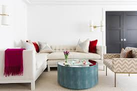 shagreen round coffee table ivory tufted sectional with round blue shagreen coffee table