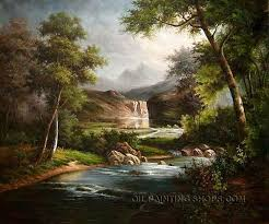 Mountain Landscape Paintings by 126 Best Landscape Paintings Images On Pinterest Landscape