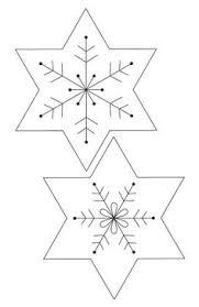queste decorazioni a forma di stella di natale sono fatti a mano