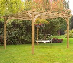forest ultima 3 6m x 3 6m pergola kit gardensite co uk