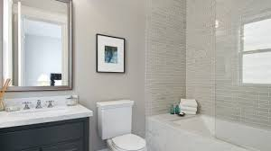 bathroom design grey natural aluminium frame glass ventilation