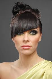 haircutsbfor women in their late 50 s exciting and bold diagonal cut bangs haircut lance lanza