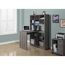 Modern White Corner Desk Monarch Specialties Inc Clarendon Corner Desk With Hutch Best