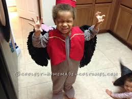 Flying Monkey Costume Last Minute Toddler Costume Flying Monkey From Wizard Of Oz
