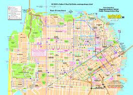 san francisco map sightseeing popular 194 list san francisco city map tourist