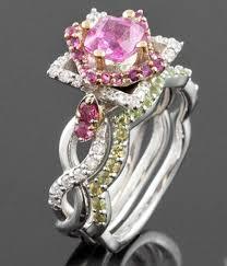 flower shaped rings images Rose shaped wedding ring interesting the lovely flower rings jpg