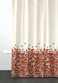 Cotton Waffle Shower Curtain Cloth Shower Curtains Teawing Co
