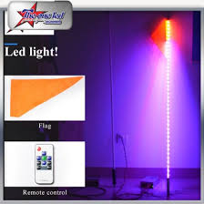 led light whip for atv china multi color led light whips with bluetooth control 5 feet