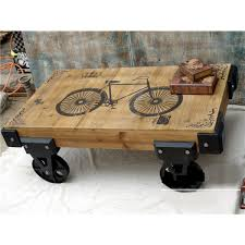 Rustic Table Ls Coffee Table Coffee Table On Wheels Rustic Outdoor