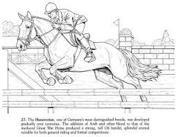 fresh horse jumping coloring pages coloring coloring