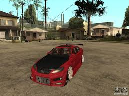 drift cars lexus drift car for gta san andreas