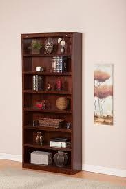 Round Revolving Bookcase Amazon Com Harvard Book Shelf 84 Inch Antique Walnut Kitchen