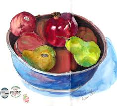 Bowl Of Fruits Just A Bowl Of Fruit Jana Bouc Artist