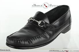 santo triana shoes mens santo triana black leather moccasins casual shoes sz 13m