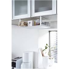 Under Cabinet Shelves by Under Cabinet Storage Spice Rack Under Shelf Sliding Storage