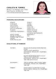 basic resume exles 2017 philippines unusual sle updated resumes contemporary resume ideas