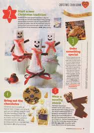 Sainsbury S Christmas Cake Decorations by Sainsbury U0027s Christmas Magazine 2014 25 Day Countdown To Christmas