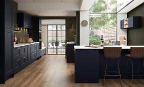 slate blue painted kitchen cabinets florence shaker kitchen in slate blue kitchen stori