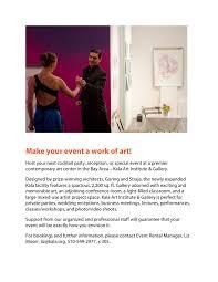 kala art institute kala space event rental program page 1