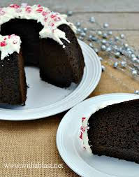 chocolate pound cake with a blast
