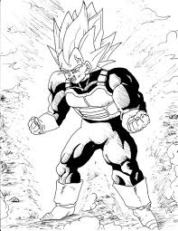 dragon ball z 204 cartoons u2013 printable coloring pages