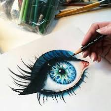 honestly this drawing is very similar to my eyes amazing