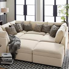 Sectional Pit Sofa Beckham Upholstered Pit Sectional Living Room Bassett Furniture