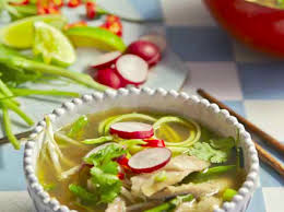 cuisine pho chicken pho with courgette noodles hemsley hemsley