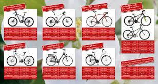 rent a price price list bike rent a bike