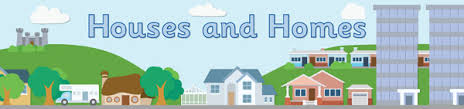 house and homes house themed display banner free early years primary teaching