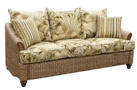 Love Seat Sofa Sleeper by Rattan And Wicker Sofas And Sleeper Sofas Island And Florida