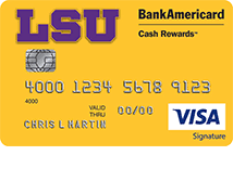 credit card application bankamericard cash rewards visa