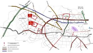 Bahadurgarh Metro Map by Looking For Apartment Budget 60 Lakh Near Dwarka
