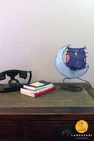 Owl Table L Owl On The Moon Table L Ladani