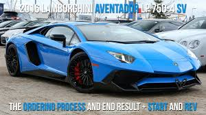 buying a lamborghini aventador buying a 2016 lamborghini lp750 4 sv in le mans start to