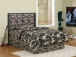 cameron army camouflage full size headboard or footboard powell