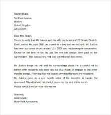 Sle Verification Letter For Tenant Landlord Reference Letter Template 10 Samples Examples U0026 Formats