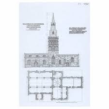 castor church fig a drawings benefice of castor