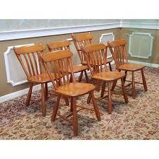 Maple Kitchen Furniture 1950s Vintage Winchendon Furniture Solid Rock Maple Meeting