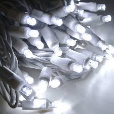 led polka dot 70 string light set cool white w white cord led