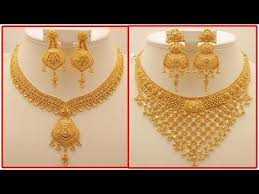 golden necklace designs images Latest gold necklace designs with weight today fashion jpg