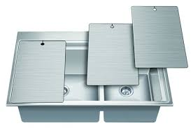 Niralis EXA Stainless Steel Kitchen Sinks The Inside Track - Nirali kitchen sinks