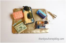 how to downsize must have purse essentials