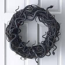 wriggling snake wreath martha stewart