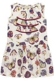 poplin dress cotton kids u0027s printed dresses compare prices and buy