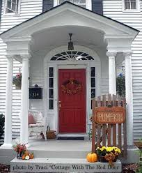 Fall Decorated Porches - autumn decorating ideas you will enjoy